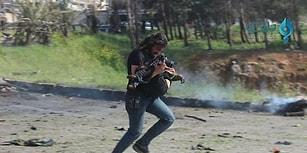 Suriye'deki Dev Patlamada Ağır Yaralanan Çocuğu Kurtarmaya Çalışan Kahraman Savaş Fotoğrafçısı