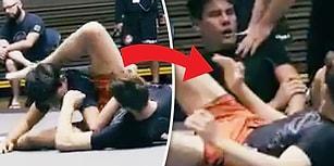 Jiu Jitsu Karşılaşmasında Rakibinin Kolunu Acımadan Kıran Sporcu