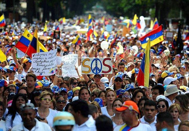 Venezuela neden bu kadar kutuplaşmış bir ülke?