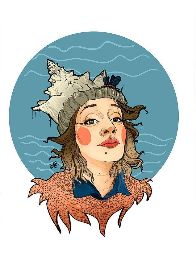 19. Denizden çıkan kız