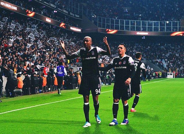 GOL (58') Talisca   Beşiktaş 2-1 Lyon