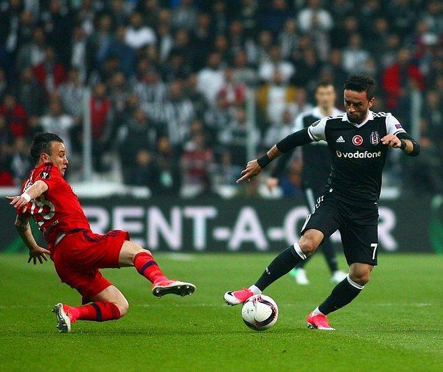 120'   Beşiktaş 2-1 Lyon