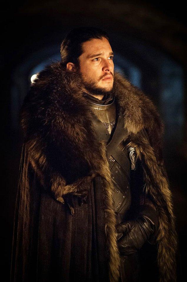 9. Jon Snow bütün görkemiyle...