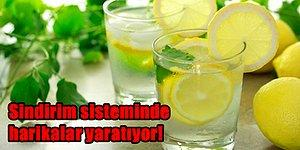 Limon Suyu İçtiğinizde Vücudunuzda Gerçekleşen Birbirinden Tuhaf ve Büyüleyici 11 Durum