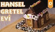 Çocukluğumuza Geri Dönelim: Hansel ve Gratel Evi Nasıl Yapılır?