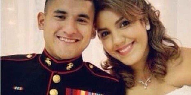 Rebecca Hernandez ve lise aşkı Frankie 2012 yılında evlendi.