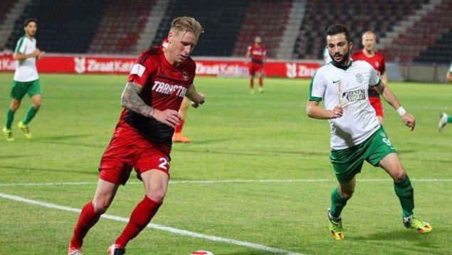 Rajtoral, bu sezon 12'si Süper Lig 8'i kupa maçı olmak üzere 20 defa Gaziantepspor forması giymişti.