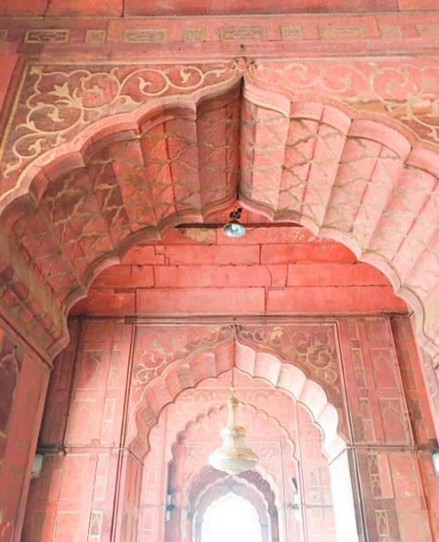 10. Jama Camii, Delhi, Hindistan