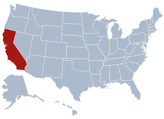 5. Kıta plakalarının hareketlerinden dolayı, 10 milyon yıl sonra Kaliforniya ABD'den ayrılacak.