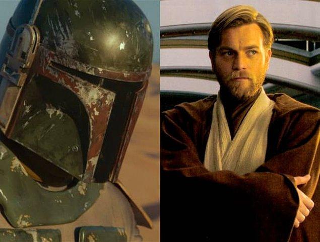 7. Star Wars evreninin yeni spin-off filmi, Boba Fett veya Obi-Wan Kenobi odaklı olabilir.