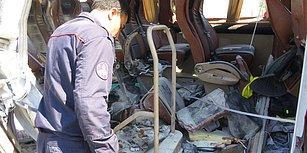 İstanbul, Pendik'te Seyir Halindeki Servis Aracında Patlama