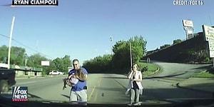Minibüsün Arkasından Yola Düşen 4 Yaşındaki Çocuğun Mucize Kurtuluşu