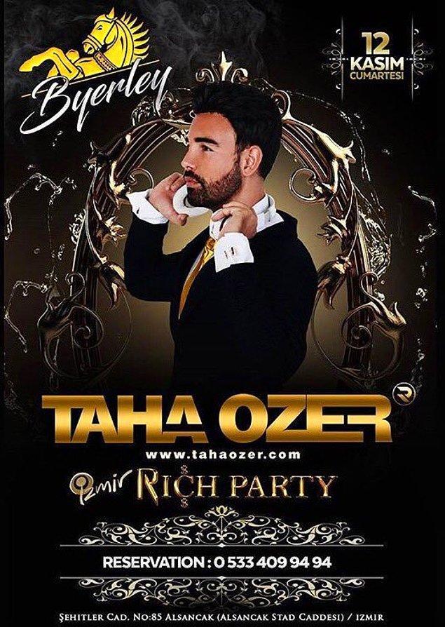 Taha Özer, başarılı ve genç bir iş adamı olmasına rağmen, alakasız bir şekilde DJ'liğe başladı, sevgili Onedio okurları...