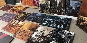 Yeditepeli Şehri Bir de Böyle Görün: 'Aziz İstanbul' Sergisi Sanatseverlerle Buluşuyor!