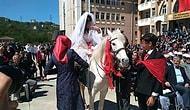 Çocuk Gelinle Mücadele Eden Türkiye'den Manzara: Lise Öğrencileri Etkinlikte Gelin ve Damat Oldu!