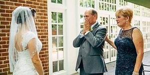 Kızını Gelinlik İçinde Gördüğünde Yaşadığı Duygu Yoğunluğu Fotoğrafa İşlenmiş 21 Baba