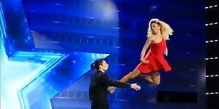 'Kesin İp Var!' Gürcistan Yetenek Yarışmasından Enfes Dans Performansı