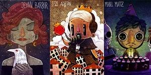 Kendine Özgü Bakış Açısıyla Ünlüleri Çizime Döken Rıza Türker'den 10 Güzel Eser