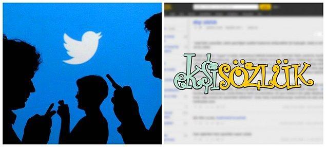 Olay sosyal medya ve Ekşi Sözlük'ün de gündeminde...