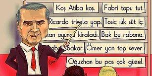 Beşiktaş Aşkını Yeteneğiyle Buluşturan Caner Demircan'dan 15 Harika Çizim