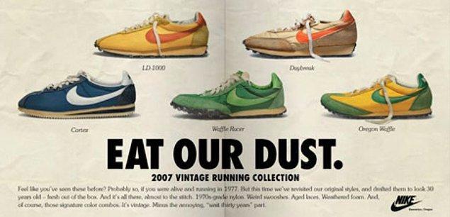 İkinci el pazarının bir başka dinamiğini ise Nike yarattı.
