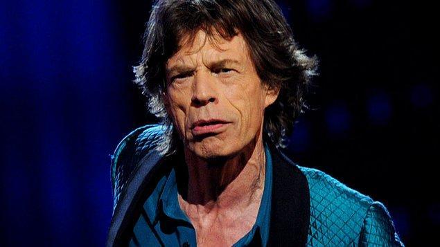 """10. Jazz efsanesi George Melly bir gün Mick Jagger'a """"Neden yüzün bu kadar kırışık?"""" diye sorunca Jagger da """"Gülmekten"""" demiş."""