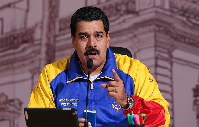 """Devlet Başkanı Maduro: """"Barış istemiyorlar"""""""