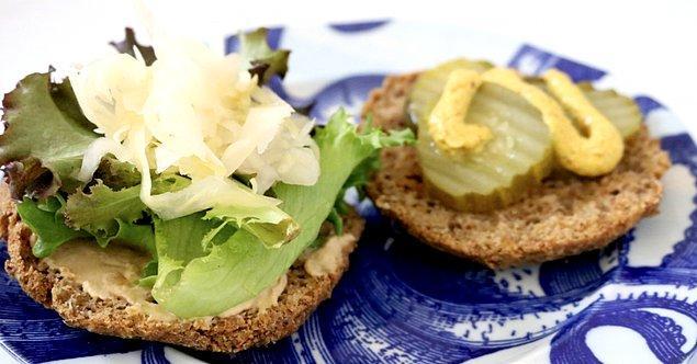 4. Az kalorili hamburger tarifi