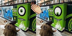 Sokak Sanatını Hareketli Animasyonlara Dönüştüren Dahiyane Fotoğrafçı: A.L. Crego