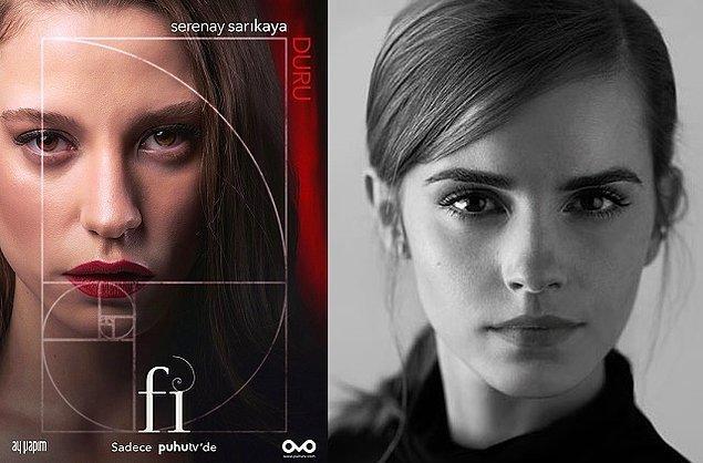 2. Duru  (Serenay Sarıkaya) - Emma Watson