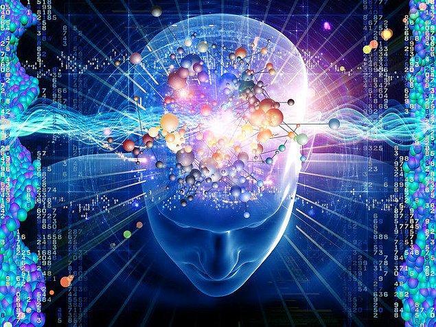 9. Atomlar üzerine çalışan bir kişi, kendi kendini anlamaya çalışan bir avuç atomdur.