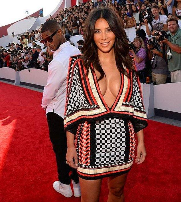 1. Usher ve Kim Kardashian