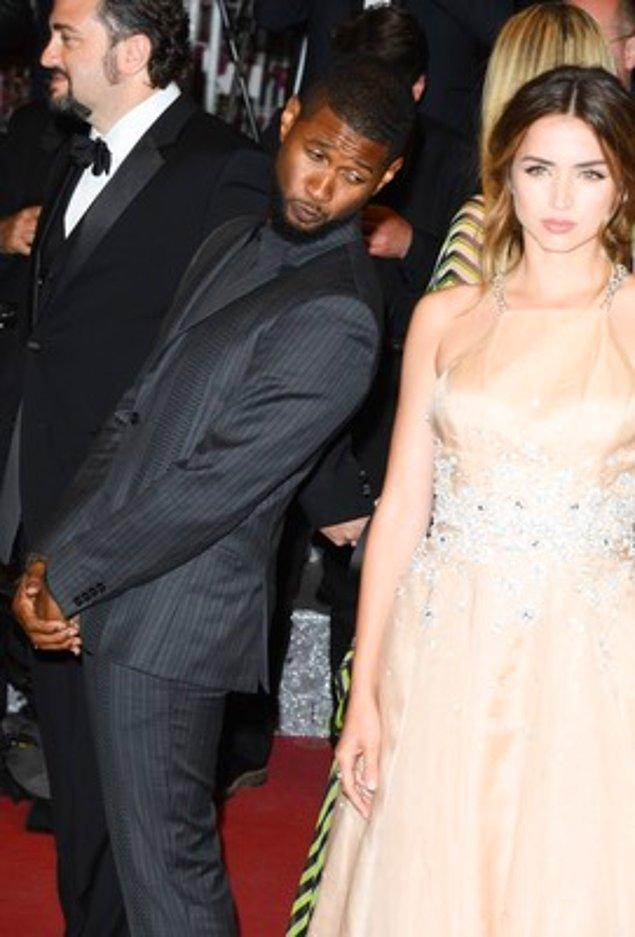 20. Usher ve Ana de Armas