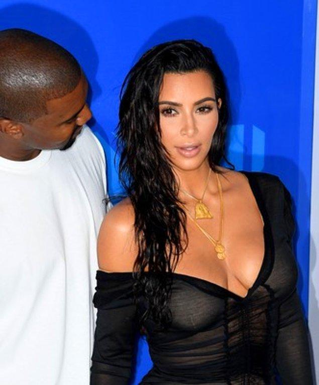 30. Kim Kardashian ve Kanye West