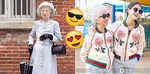 Özgür Ruhunu Kaybetmeyip Hayatını İngiliz Kraliçesi Gibi Yaşayan 85 Yaşındaki Çinli Kadın