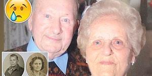 77 Yıllık Evliliklerinin Ardından Son Anlarında da Beraber Olan Çiftin İçinizi Isıtacak Hikayesi