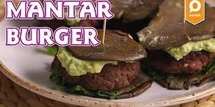 Diyetin En Güzel Yanı Ekmeksiz Hamburger : Mantar Burger Nasıl Yapılır?