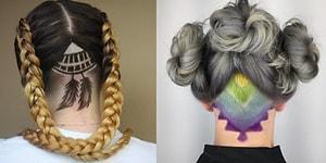 Saçlarında Gizli Saklı Değişimler İsteyen Herkese İlham Verecek 17 Sanatsal Ense Tıraşı