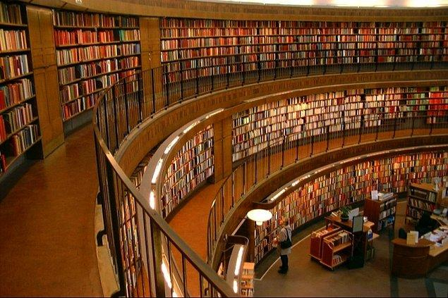 1. Kütüphaneler bu dönemde eviniz olmuştur.