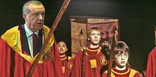 Cumhurbaşkanı Erdoğan'ın Gryffindor Üniformasına Mizah Asasını Kaldıran 15 Kişi