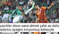 16 Yorum ile 5-0'lık Bursaspor-Galatasaray Maçının Sosyal Medya Özeti
