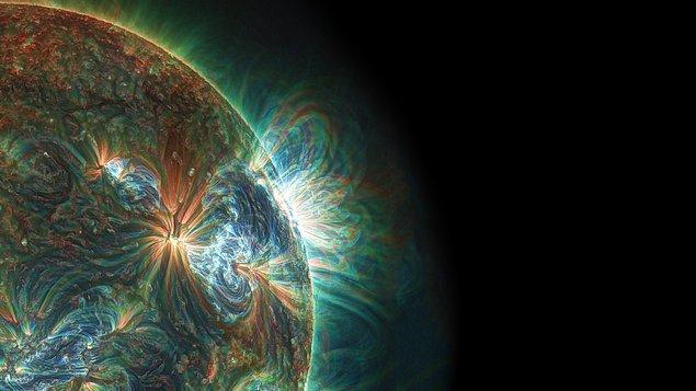 12. Güneş saniyede 680 milyon ton hidrojen yakar.