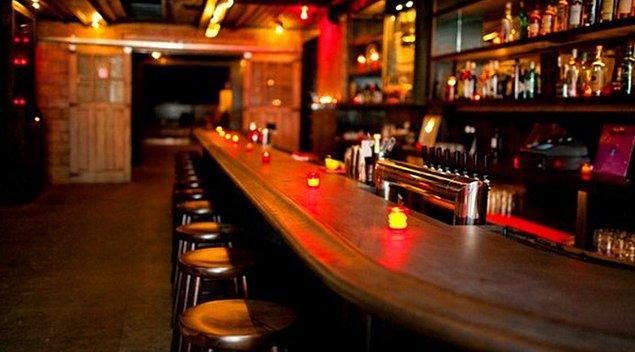 Barlarda takılıyorsun!
