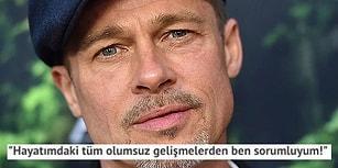 Artık Çok Geç! Brad Pitt'in 'Düşmez Kalkmaz Bir Allah' Dedirten İbretlik Röportajı