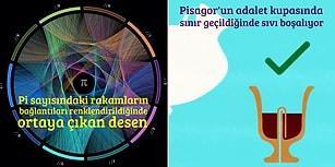 Geometri, Matematik ve Fizik Tutkunlarını Baştan Çıkarması Garanti 19 Zihin Açan Görsel