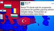 Barça TV'deki Türkiye Haritası Skandalı Sonrası Barcelona Özür Diledi