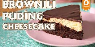 Yoğun Çikolata Lezzetli İki Tadın Birleşimi: Brownili Puding Cheesecake Nasıl Yapılır?