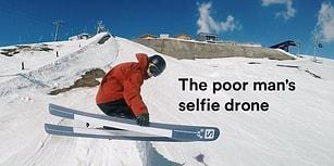 Kayak Anını Kaydetmek İçin Farklı Bir Yol Seçen Adamdan Muhteşem Selfie'ler