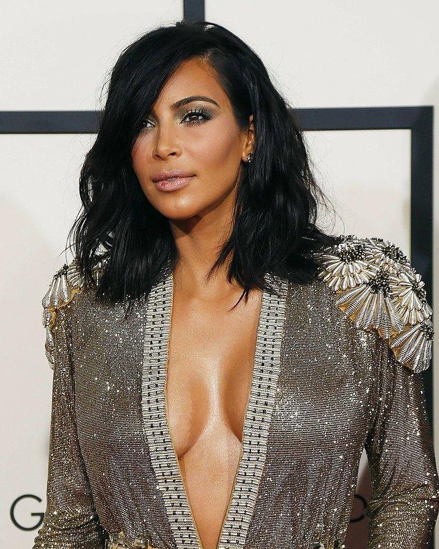 7. Kim Kardashian ise ilk birlikteliğini 15 yaşındayken yaşamış!