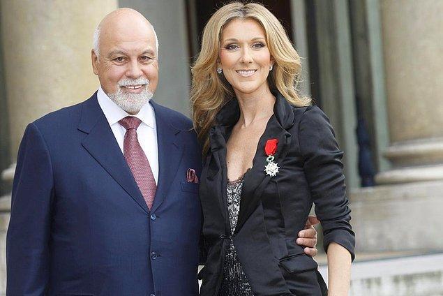 13. Celine Dion ise ilk birlikteliğini büyük aşkı René Angélil ile yaşamış.